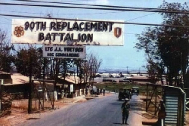 90th Replacement Battalion In Long Binh
