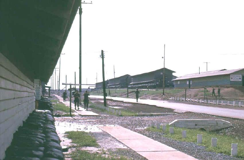 VIETNAM 90th Replacement Barracks